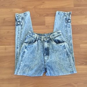 Vintage High Waisted Ankle Pants Jeans 25